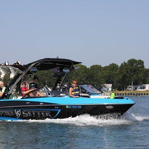 Peconic Water Sports kids wakeboarding and waterskiing camp near Southampton, New York
