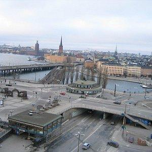 Вид с площадки Katarina Hissen