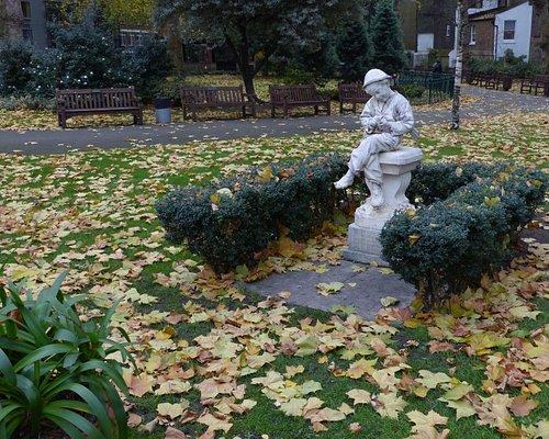 Paddington Street Garden in Marylebone
