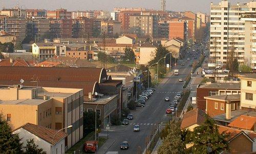 Via Milano direzione centro Cologno