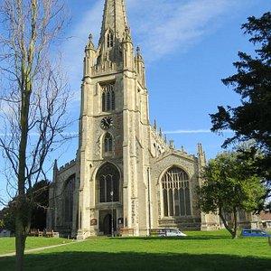 Saffron Walden church
