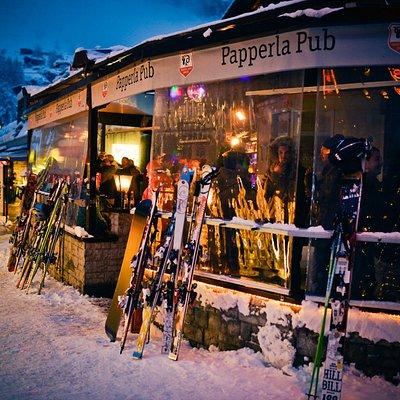 Papperla Pub Après Ski Terrace