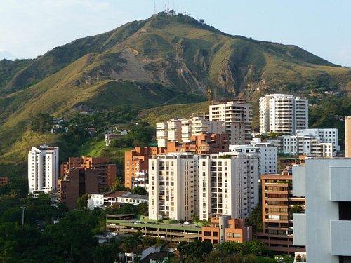 Stunning views from Belalcazar