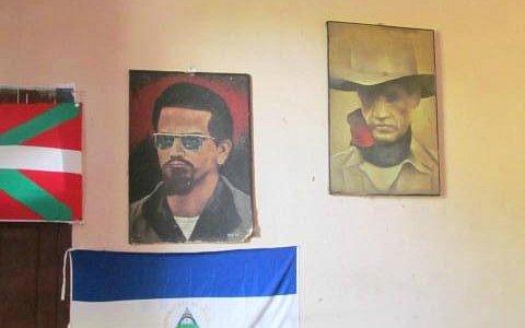 Portrait wall