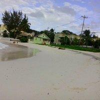 Beach area opposite Golden Sands