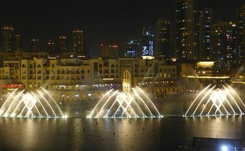 Il gioco delle fontane Burj Khalifa