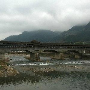 Yonghe Bridge Downstream View