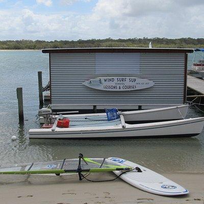 Noosa Watersports location noosa river