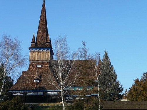 Old wooden church in Miskolc