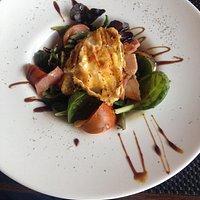 Ensalada de queso de cabra (menu)