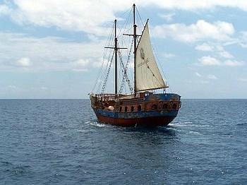 Timanfaya surcando los mares