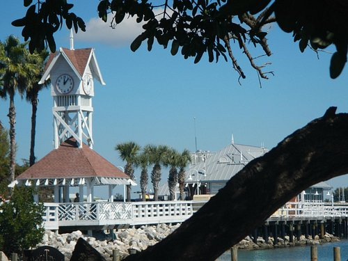Clock Tower at the Pier
