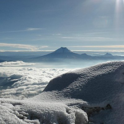 Cotopaxi from the summit of Illiniza Sur