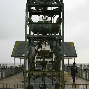 The water clock Southwold Pier