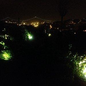 Magnifique vue sur le pont du 25 Avril