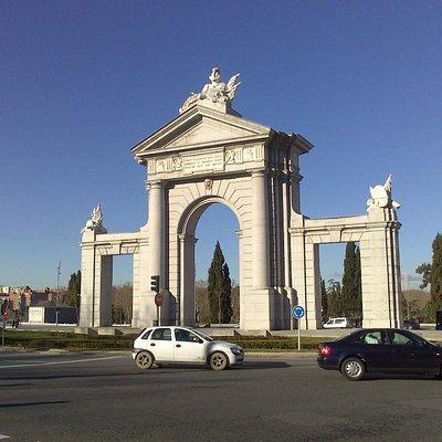 Arco de triunfo compuesto.