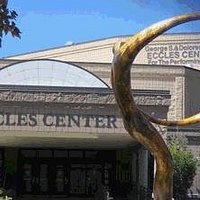 The Eccles Center consists of the 1,250-seat Main Stage, and the smaller Black Box Theater.