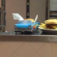 Kids meal at Broadway Burger