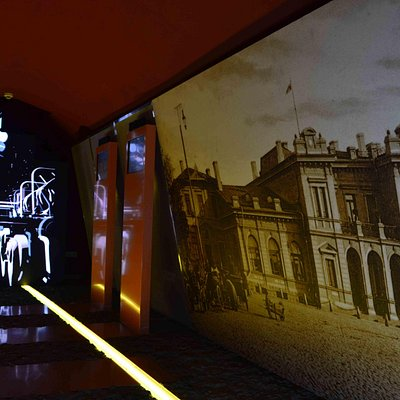 The Fortuna Cellar - part of exposition about industry.