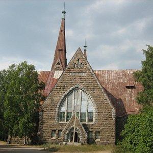 Музей расположен в лютеранской кирхе Святой Марии Магдалены
