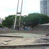 Teatro central abandonado