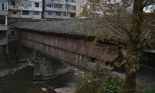 Dengyun Bridge, in Taishun City