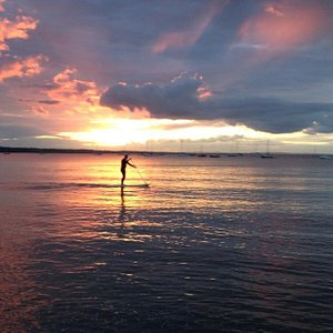 Sunset paddle with Outdoor Dublin