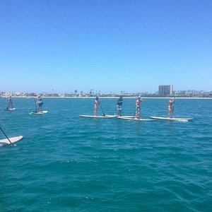 Guided Stand Up Paddle corperate outing