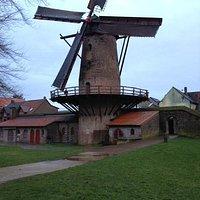 de kriemhildmühle in de stadsmuur