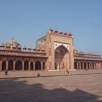 Full view of masjid