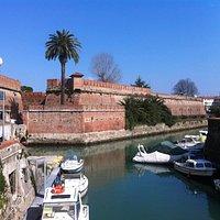Fortezza Nuova a Livorno, veduta