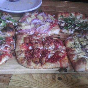 Pizza flight!!!