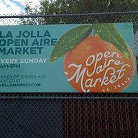 La Jolla Open Aire Market Sign