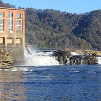 Kanawha Falls and Power Station