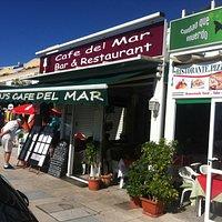 J.J.'s Cafe del Mar - exterior
