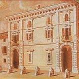 affresco facciata del palazzo