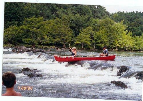 Presbyterian Falls, Mountain Fork River