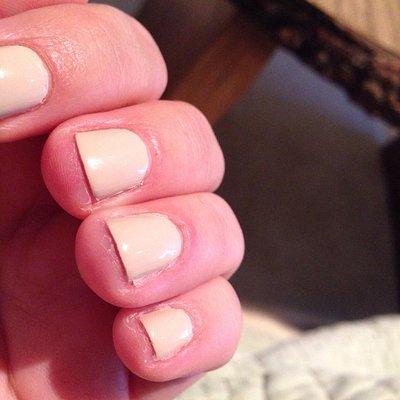 horrible manicure