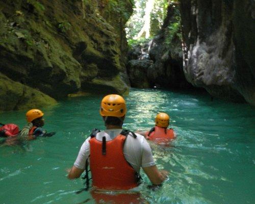 River climbing at Matutinao River