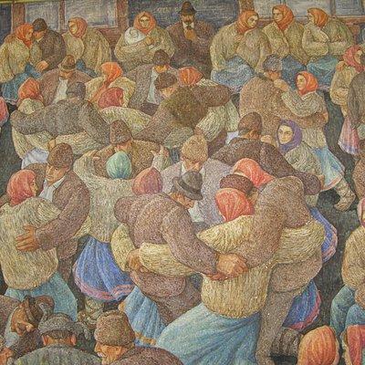 Владимир Микита. За счастье внука. 1960-е. Закарпатский областной художественный музей