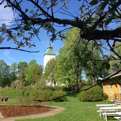 Prestegårdshagen og Prestegården