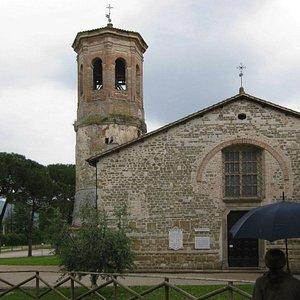 Facciata della Chiesa superiore