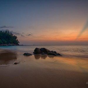 Nai Thon Beach at sunset