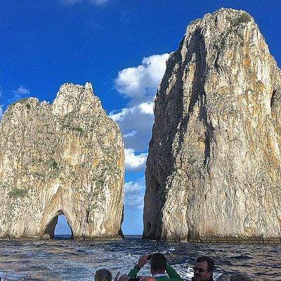 Faraglioni Rocks in Capri