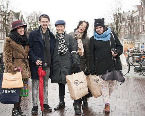 First Shopping Tour in Amsterdam