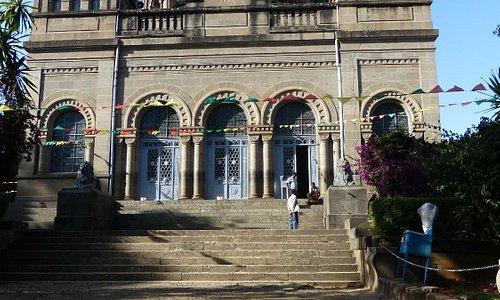 Tortoise - Exterior of The Mausoleum of Menelik II  |  Niger Street & Itega Menen, Addis Ababa,