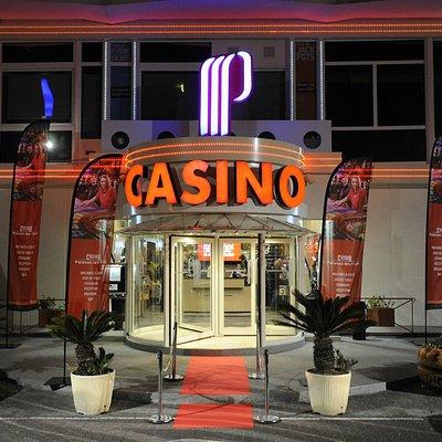 facade de nuit du casino de palavas