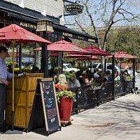 Austin's Old Town patio