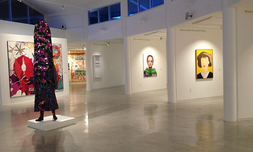 Interior galleries change periodically throughout the year.