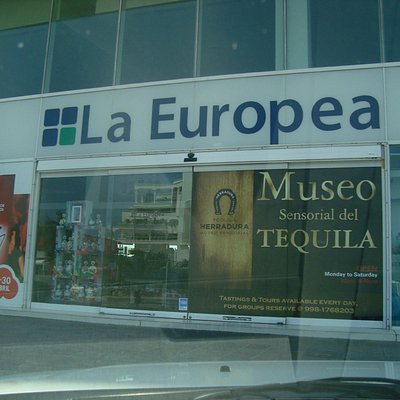 Entrada principal de la tienda al museo